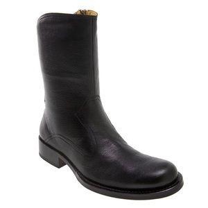 Cole Haan 'dylan' black zip boot/ 9.5
